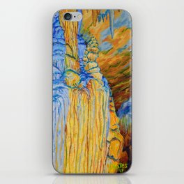 View of Luray Caverns iPhone Skin