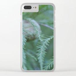 baldcypress Clear iPhone Case
