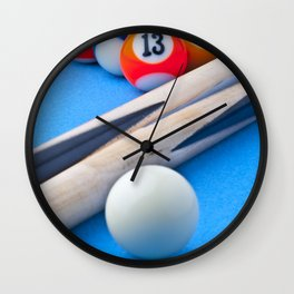 Gaming Table Wall Clock