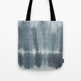 Tye Dye Gray Tote Bag