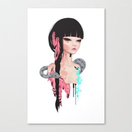broken doll no.3 Canvas Print