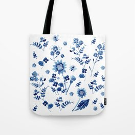 Spring wild flowers & Bee Tote Bag