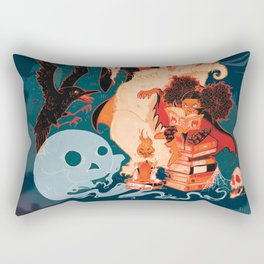 Spooky Books Rectangular Pillow