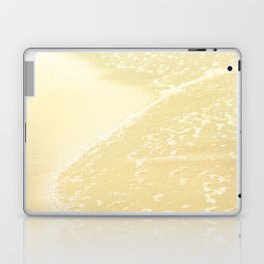 Kapalua Beach sparkling golden sand and seafoam Maui Hawaii Laptop & iPad Skin