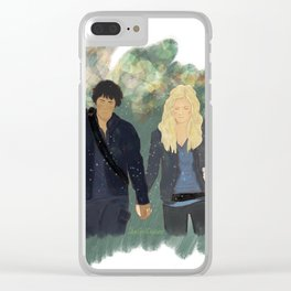 We need each other Clear iPhone Case