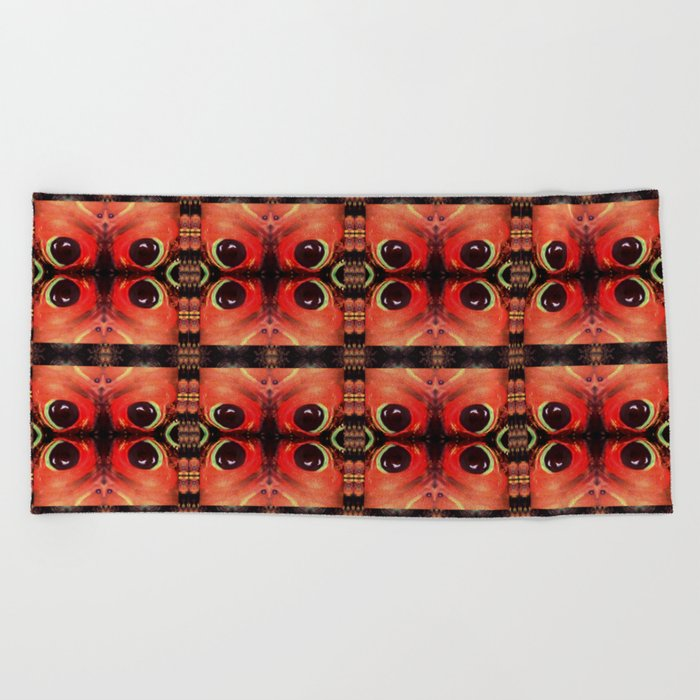 Eyes of the Universe # 7 Beach Towel