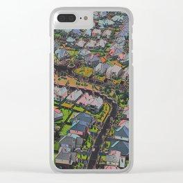 Urban Sprawl Clear iPhone Case