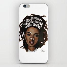 Lauryn Hill iPhone Skin
