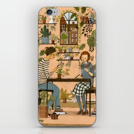 The Botanists iPhone Skin