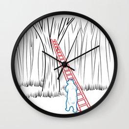 DA BEARS - CLIMBING Wall Clock