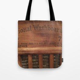 Antique washboard Tote Bag
