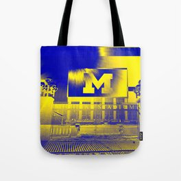 Michigan Stadium Tote Bag