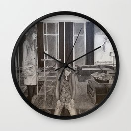 """Christian the submissive"" Fifty Shades Darker Wall Clock"