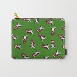 A Basset Full of Christmas Carry-All Pouch