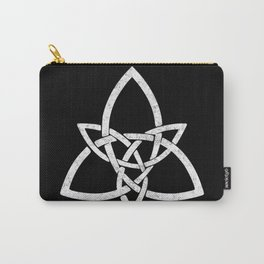 Rustic Celtic Knot - Inverted Carry-All Pouch