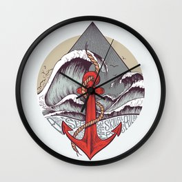 Smooth Sailing Wall Clock