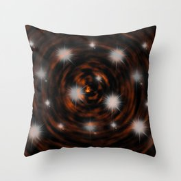 Hope Sparkles above the Bottomless Pit Throw Pillow