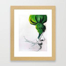 I'm a bit cloudy today Framed Art Print