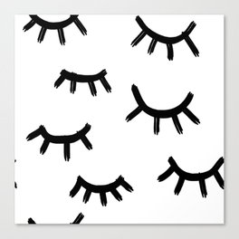 lashes Canvas Print
