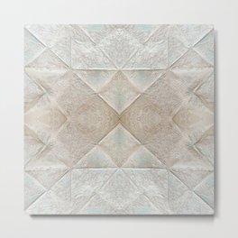 Pattern 39 - Old folded Paper Metal Print