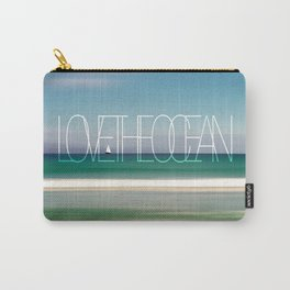 LOVE THE OCEAN II Carry-All Pouch
