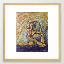Nixe Framed Art Print