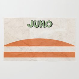 Juno - Alternative Movie Poster, classic movie, funny movie, minimal movie poster Rug