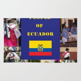 The People of Ecuador, Collage Rug