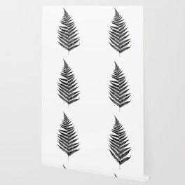 Fern silhouette Wallpaper