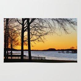 Lakeside Sunset Rug