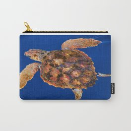 Loggerhead turtle Carry-All Pouch