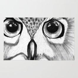 mysterious owl Rug