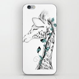 Poetic Giraffe iPhone Skin