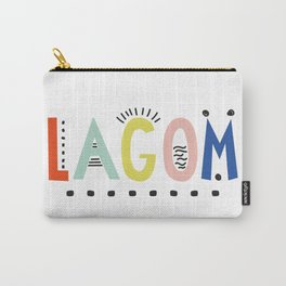 Lagom colors Carry-All Pouch