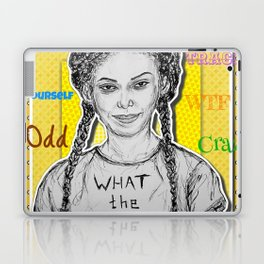 (Chewing Gum - Michaela Coel) - yks by ofs珊 Laptop & iPad Skin