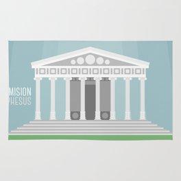 World Wonder: Temple of Artemis at Ephesus Rug