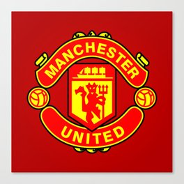 Manchester United Canvas Print