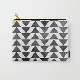 Triangle - Yellow II Carry-All Pouch