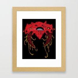 i heart you like this Framed Art Print