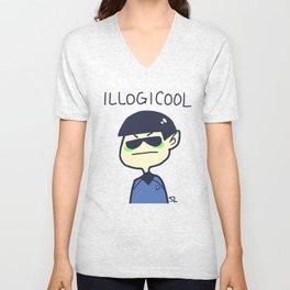 illogicool Unisex V-Neck