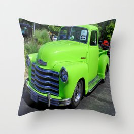 Bev I (1947 Chevy Pickup) Throw Pillow