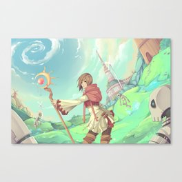 The Asgard Plains Canvas Print