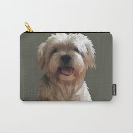 Shih tzu Low Poly Carry-All Pouch