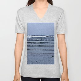 Stairway to the Sea Unisex V-Neck