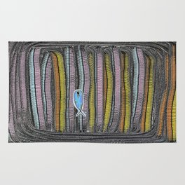 Not Whaling / Imperfect Lines Rug