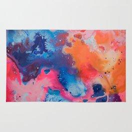 Neon Nebula Rug