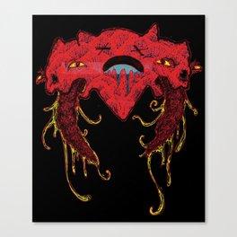i heart you like this Canvas Print