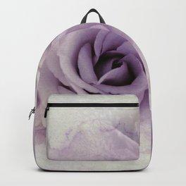 wet purple rose Backpack