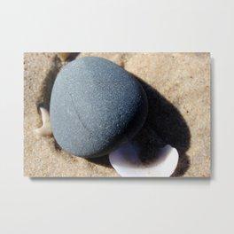 SeaStone Metal Print