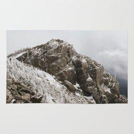 Winter on Mt. Liberty Rug